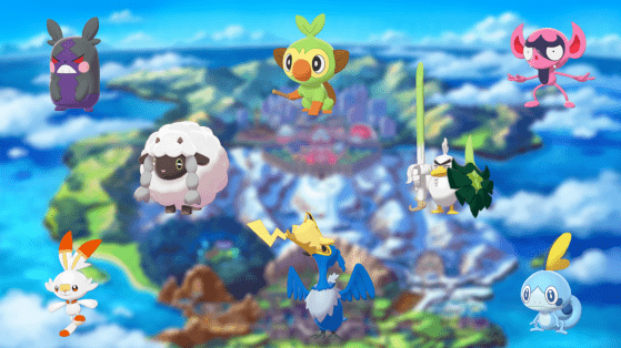 All Pokémons in Galar's Pokédex Collection