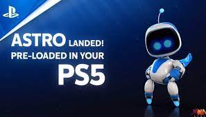 Astro's Playroom, Pre-installed for free on every PS5 Console